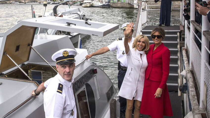 Brigitte Macron et Melania Trump : ce qui rapproche les deux Premières dames