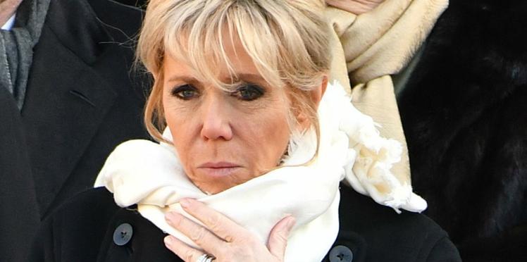 Brigitte Macron : sa réaction quand elle a appris la mort de Johnny Hallyday