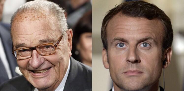 """Découvrez le cadeau """"très personnel"""" de Jacques Chirac à Emmanuel Macron"""