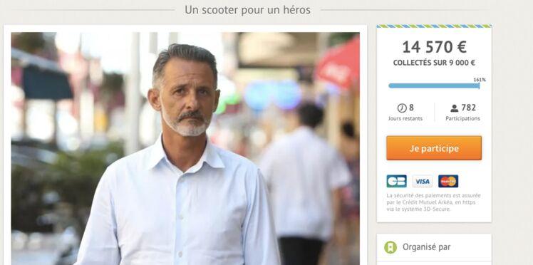 Attentat de Nice : une cagnotte pour Franck, le héros au scooter