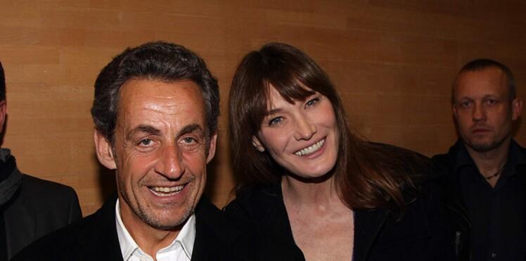 Photo – Carla Bruni dévoile une adorable photo de sa fille Giulia main dans la main avec son père Nicolas Sarkozy