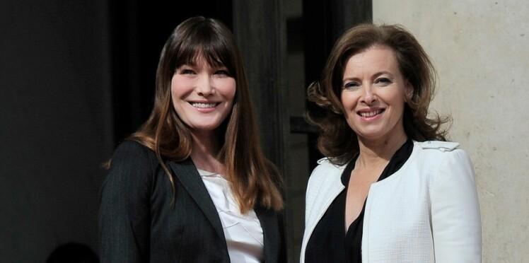 Carla Bruni défend Valérie Trierweiler