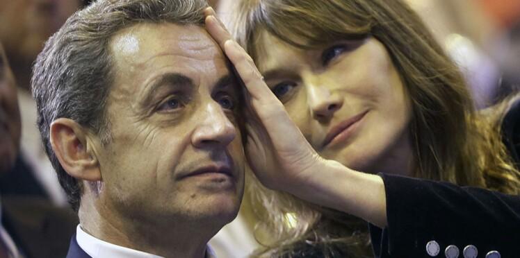 """Carla Bruni dévoile le """"côté très féminin"""" de son mari, Nicolas Sarkozy"""