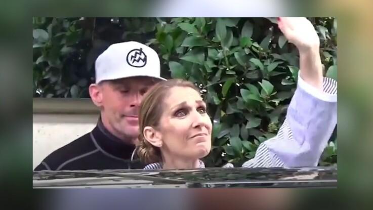 Vidéo - Céline Dion explose en larmes face à ses fans en quittant Paris