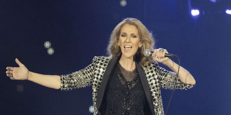 Vidéo - Céline Dion en concert à Las Vegas : une fan lui saute au cou, la chanteuse garde son sang-froid