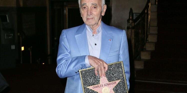 Charles Aznavour Obtient Son étoile à Hollywood Boulevard
