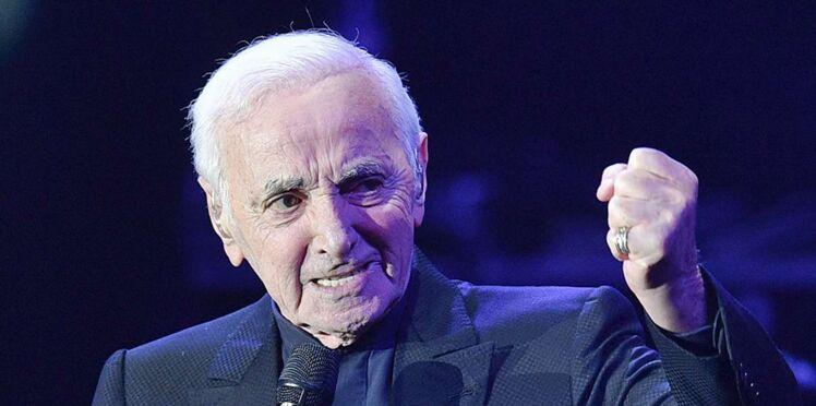 Charles Aznavour hospitalisé en urgence après une lourde chute