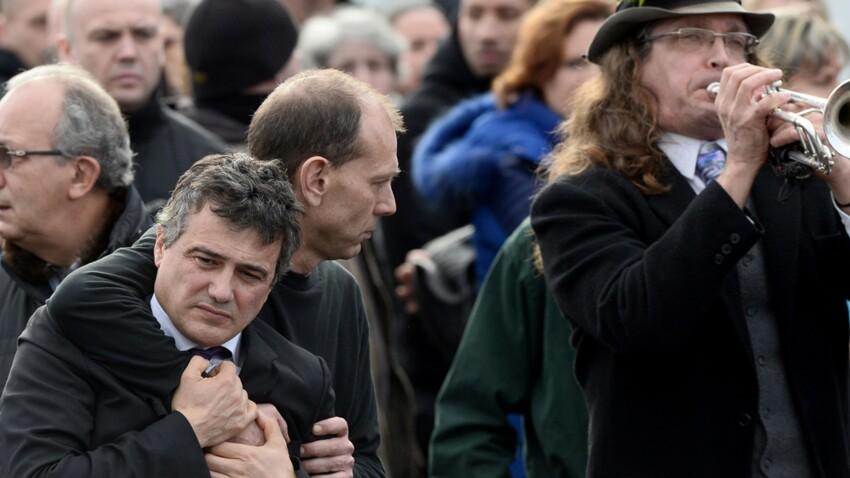 Charlie Hebdo : obsèques de Charb, ses amis lui disent adieu (photos)