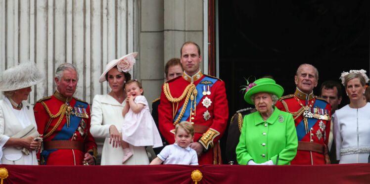 Photos : Charlotte et George trop mignons, volent la vedette à la reine Elizabeth