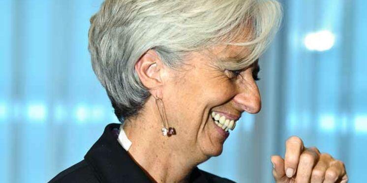 Christine Lagarde, première femme à la tête du FMI