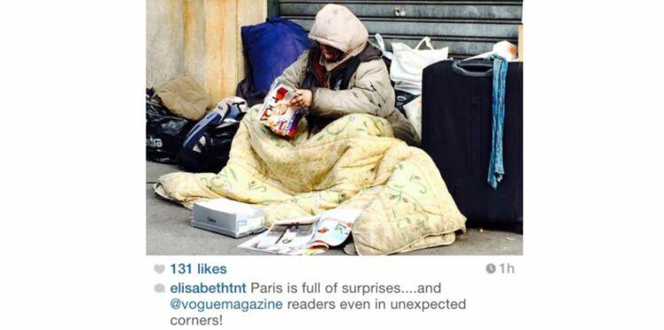 Le cliché polémique d'une rédactrice de Vogue pendant la Fashion Week