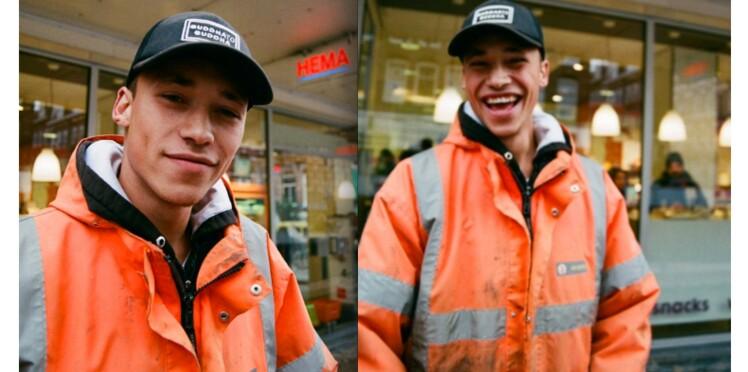 Comment un ouvrier du bâtiment est devenu mannequin