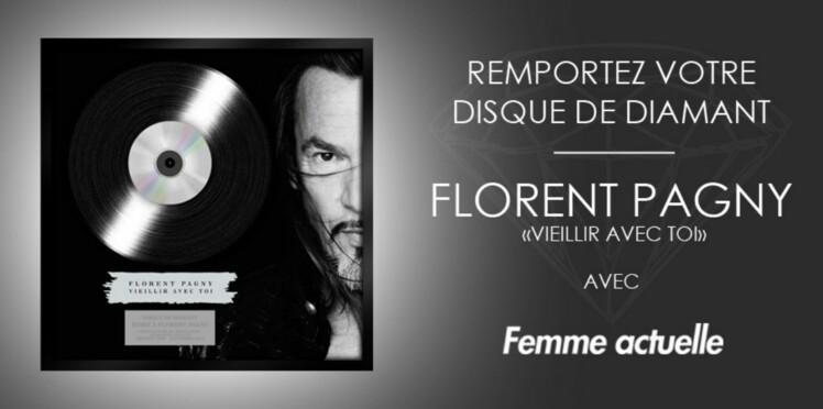 Jeu concours : gagnez le disque de diamant de Florent Pagny