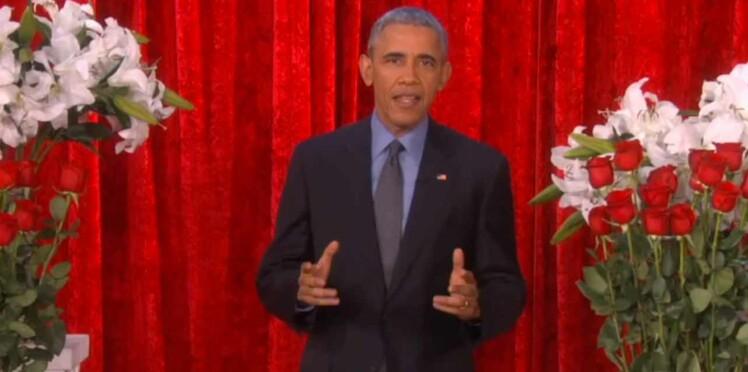 """Confidences de Barak Obama sur sa """"chaude"""" Saint-Valentin"""