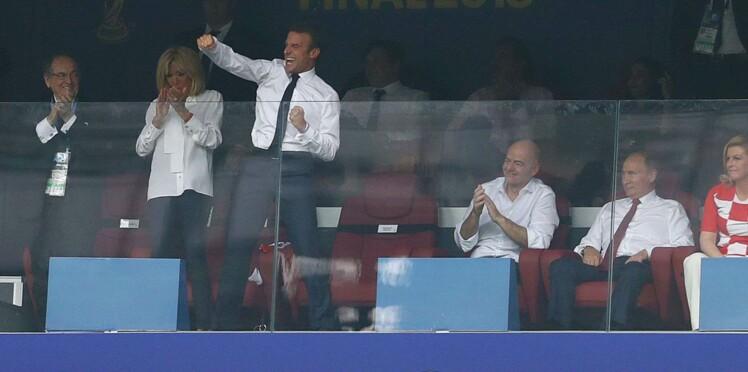 Vidéo - Coupe du monde: le geste galant de l'émir du Qatar à l'égard de Brigitte Macron