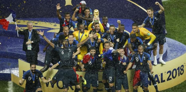 """Coupe du monde: """"Si on gagne"""", les paris fous des Bleus"""