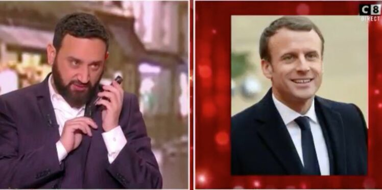 Cyril Hanouna appelle Emmanuel Macron en direct pour ses 40 ans