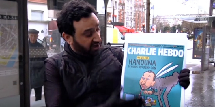 Cyril Hanouna attaqué par Charlie Hebdo : sa réponse pleine de bon sens
