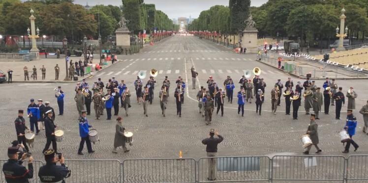 Vidéo - Daft Punk et Michel Fugain s'invitent dans la fanfare interarmées du 14 juillet