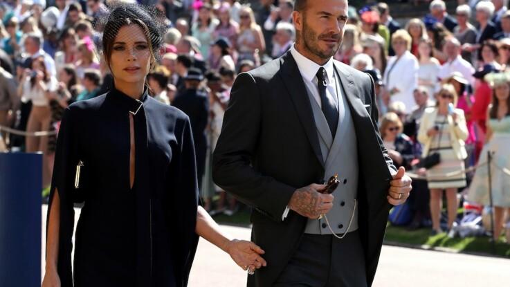 David et Victoria Beckham ont chacun commis un impair qui a choqué lors du mariage de Meghan et Harry