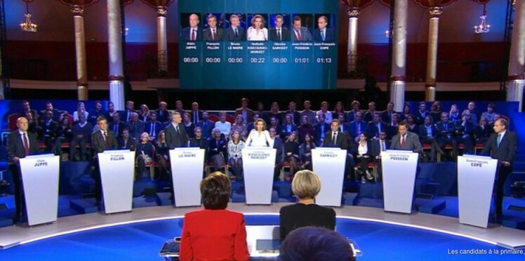 Vacheries, bourdes, lapsus…Les moments forts du débat des primaires