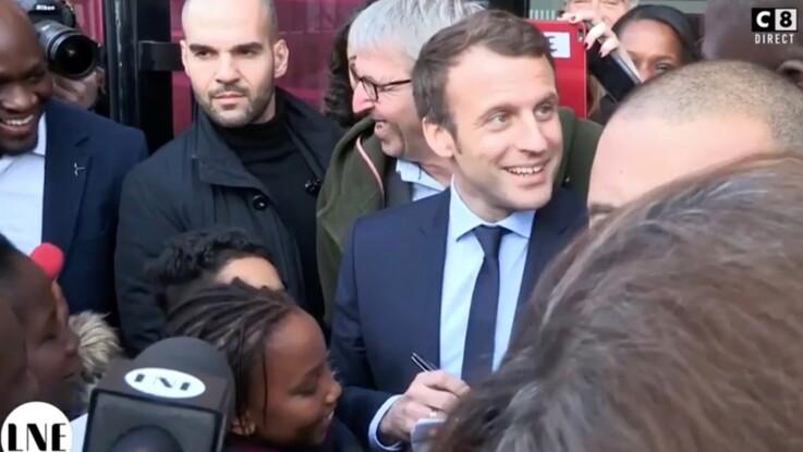 L'étonnante déclaration d'amour d'une petite fille à Emmanuel Macron