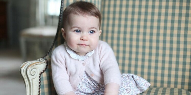 Enfin des photos de la princesse Charlotte, trop mignonne !