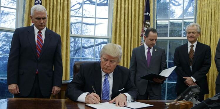 Premier décret du président Trump : un texte contre l'avortement