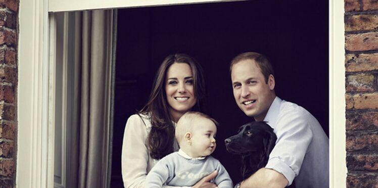 Royal Baby : un nouveau cliché de George pour la fête des mères