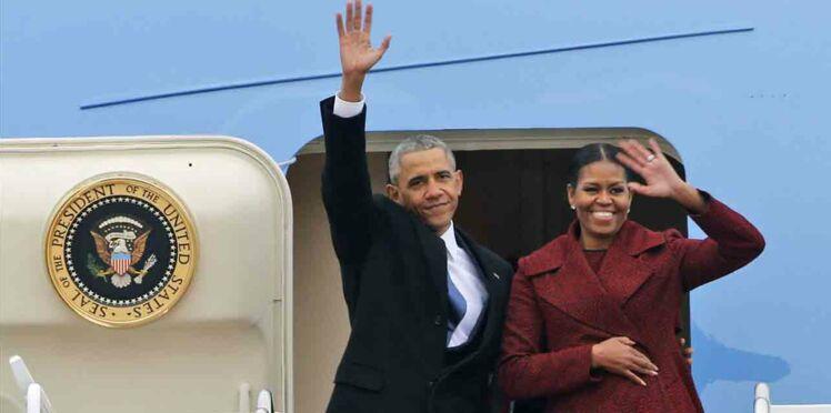 Découvrez avec quelles célébrités le couple Obama passe ses vacances