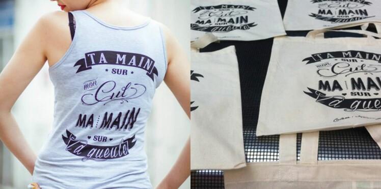 Des tee-shirts pour lutter contre le harcèlement de rue