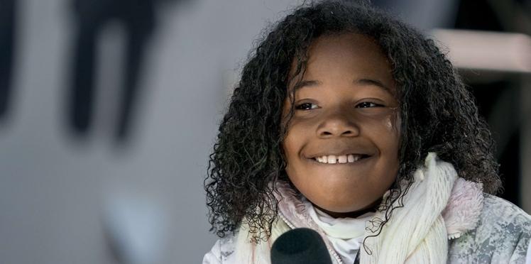 Vidéo - La petite-fille de Martin Luther King, 9 ans, fait mouche avec un discours pacifiste