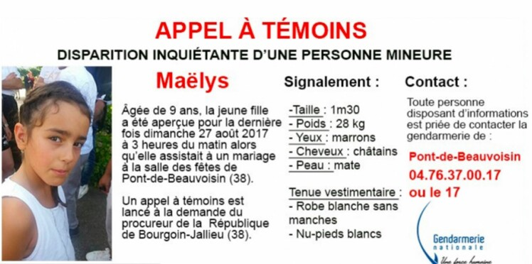 Disparition de Maëlys: le point sur l'enquête