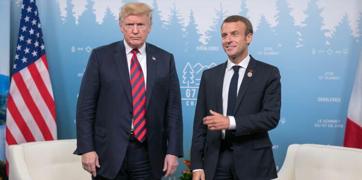 Photos – Emmanuel Macron a (encore) broyé la main Donald Trump (et y a laissé des traces)