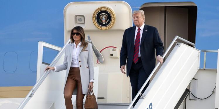 Quelle habitude de Melania Trump à bord de l'avion présidentiel a mis Donald Trump hors de lui?