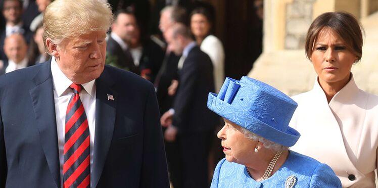 Donald Trump au Royaume-Uni : il commet un impair devant la reine Elizabeth II
