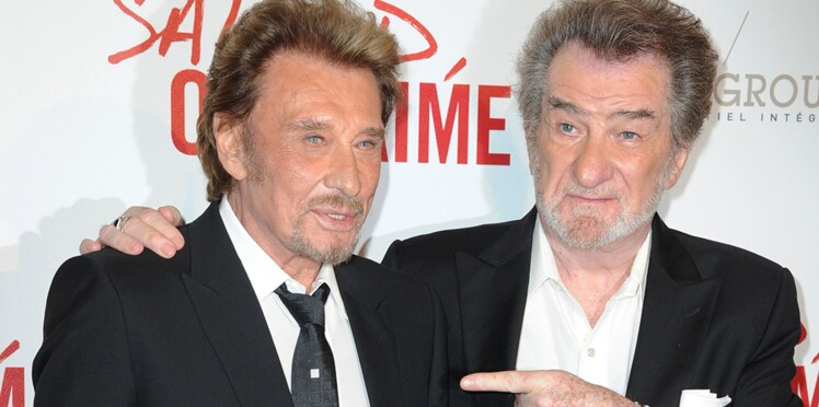 "Eddy Mitchell ""très inquiet"" pour son ami Johnny Hallyday ""très malade"""