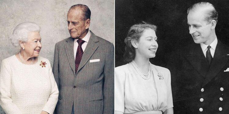 Photos - Elizabeth II et le prince Philip célèbrent leurs 70 ans de mariage : leur amour plein de tendresse en images