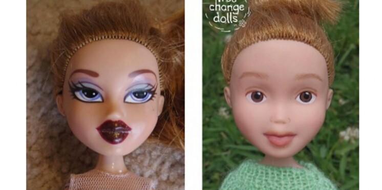 Une mère australienne démaquille les poupées pour lutter contre l'hypersexualisation