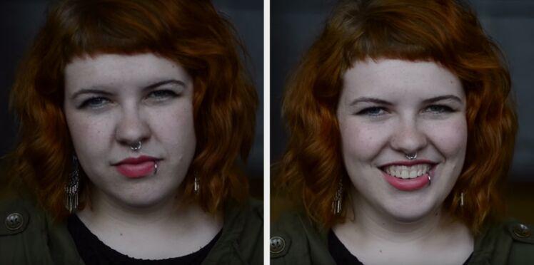 Photos : Elle leur dit qu'ils sont beaux, leurs réactions sont incroyablement touchantes