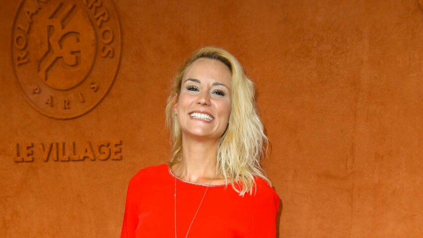 Elodie Gossuin et son mari Bertrand Lacherie amoureux à Roland-Garros