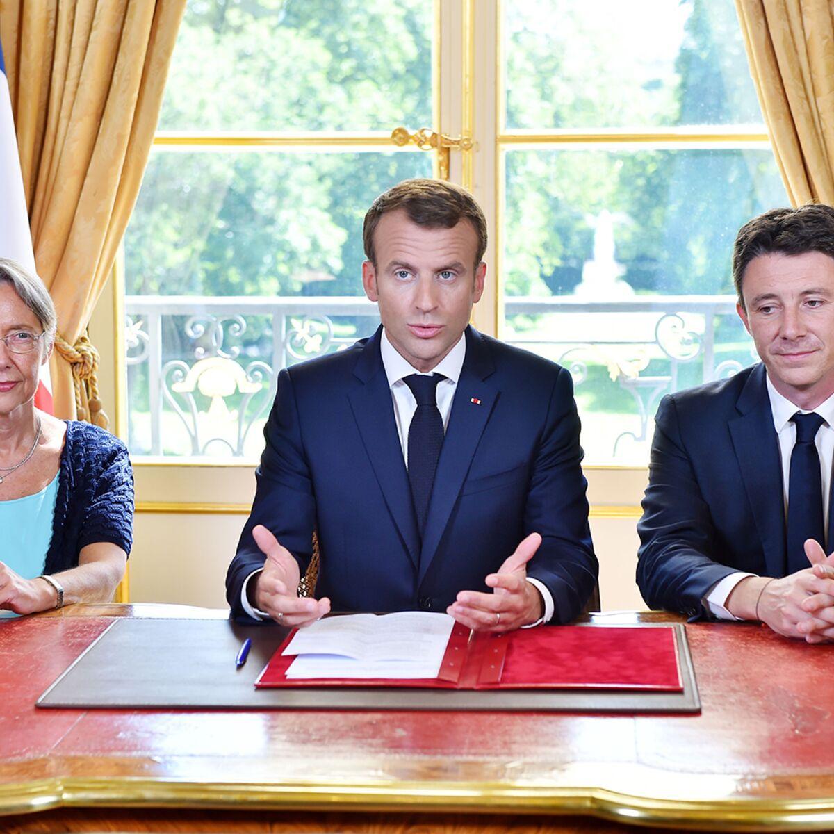 Video Emmanuel Macron Son Astuce Pour Avoir L Air Plus Grand Femme Actuelle Le Mag