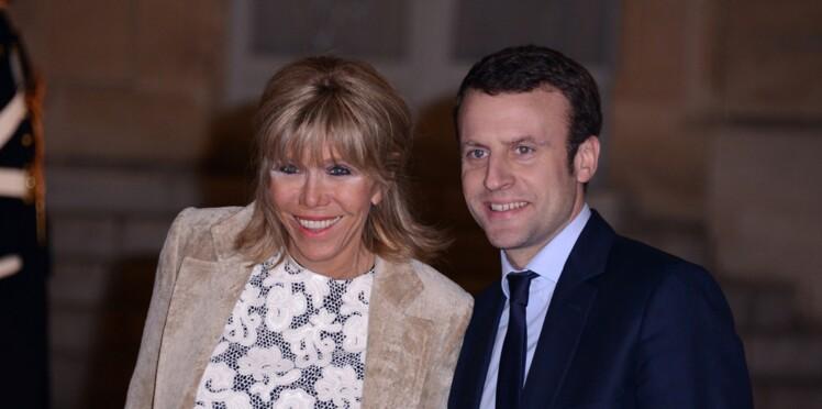 Glamour et love story: quand le couple Macron minaude