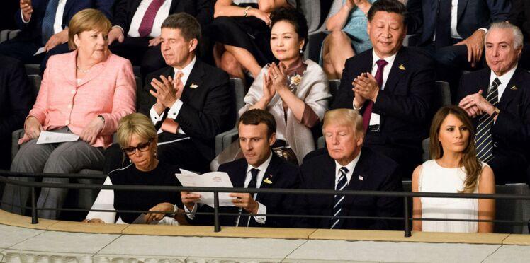 Quand les Macron piquent un roupillon en plein concert (photo dans l'article)