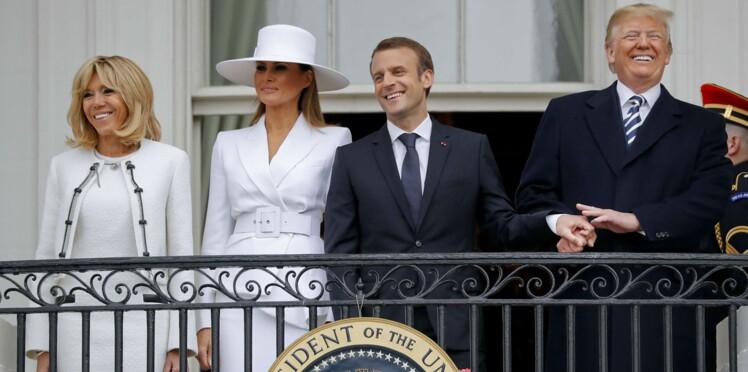 L'amitié surjouée entre Trump et Macron fait le bonheur des humoristes américains