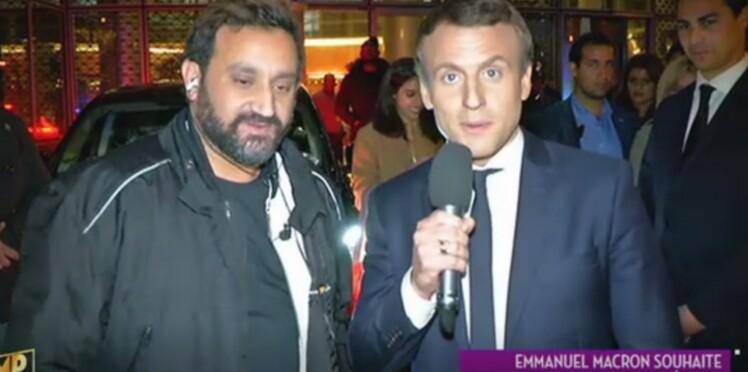 Emmanuel Macron et Cyril Hanouna s'échangent régulièrement des messages