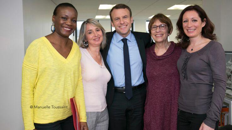 Emmanuel Macron face aux lectrices de Femme actuelle: coulisses de la rencontre