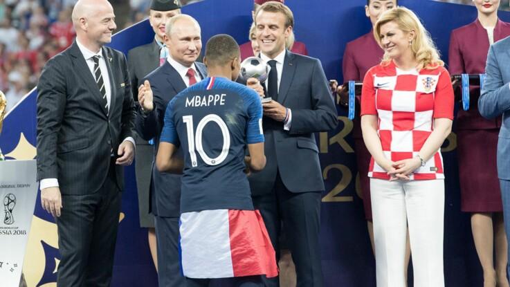 Emmanuel Macron fan de football mais aussi ancien joueur