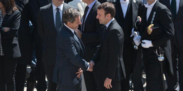 Emmanuel Macron a reproché à Nicolas Sarkozy d'avoir lancé la rumeur sur sa prétendue homosexualité