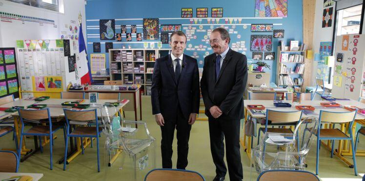 Emmanuel Macron sur TF1: les petits détails dans la classe repérés par les internautes